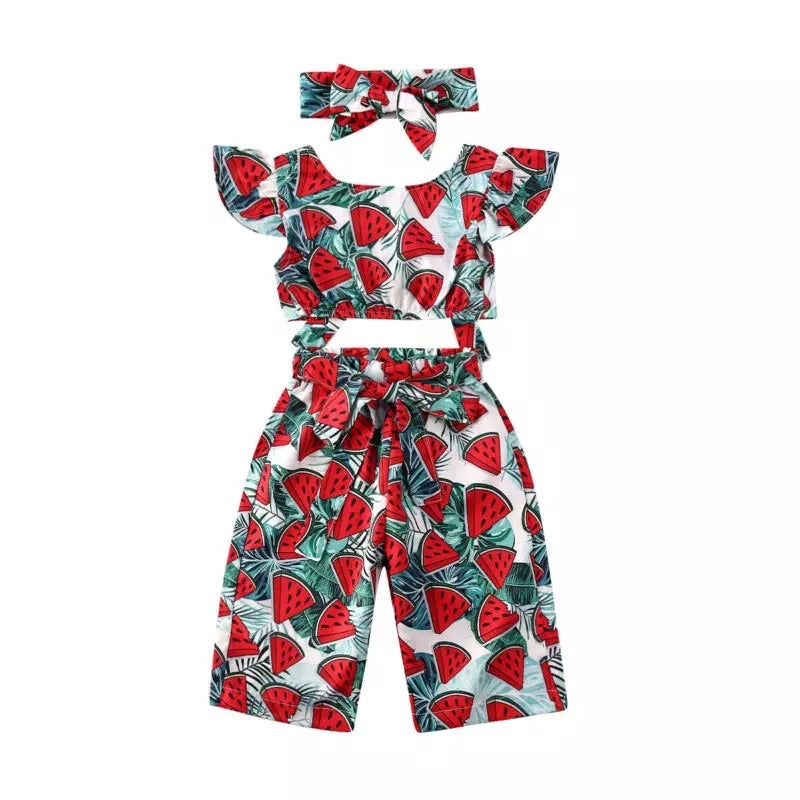 Watermelon Forrest Big Sister Set