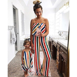 Rainbow Striped (mommy & me)