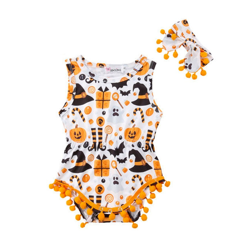 Halloween Celebration Romper