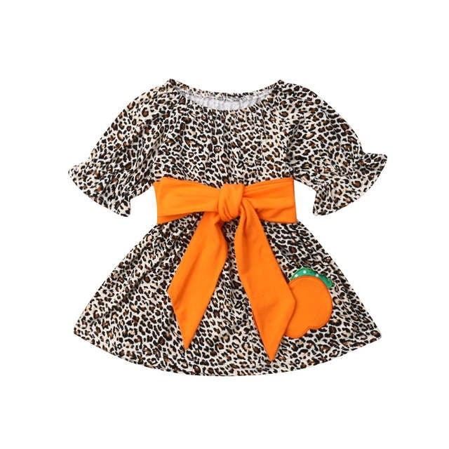 Halloween Leopard Dress
