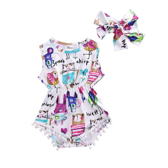 Adorable Animal Romper