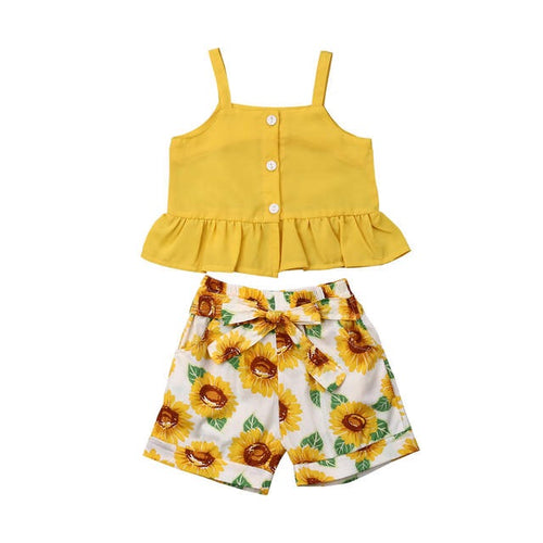 Yellow Sunflower Summer Set