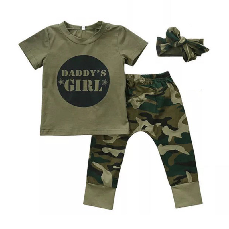 Daddy's Girl Army Set