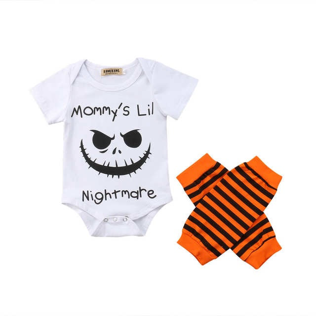 Mommy's Lil Nightmare Romper Set