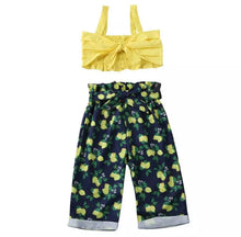 Load image into Gallery viewer, Lemon Print Summer Princess Set