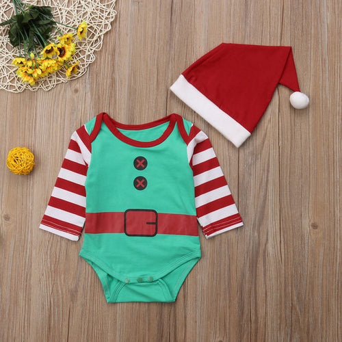 Little Elf Romper Set