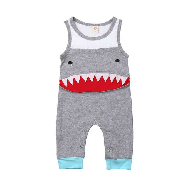 Happy Shark Romper