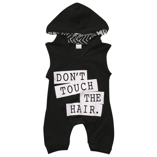 Don't Touch The Hair Romper
