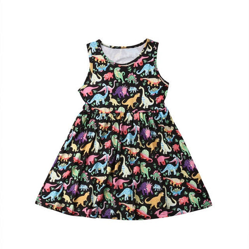 Dinosaur Crossing Dress