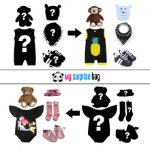 Load image into Gallery viewer, Princess (Surprise Bag) with Romper (0m-18m)