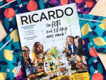 Demain Demain in the November 2019 Ricardo magazine!