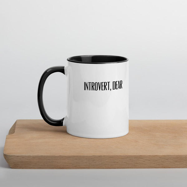 Exhausted Nope Cat Mug