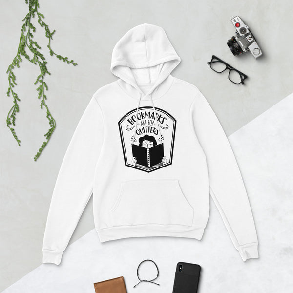 Bookmarks Are for Quitters Hoodie