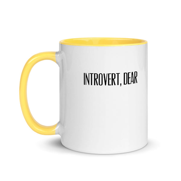 Introverts Just Need Their World a Little Quieter and Less Crowded Mug
