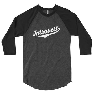 Team Introvert ¾ Sleeve Tee