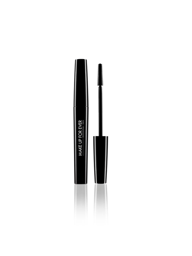 MAKE UP FOR EVER Smoky Stretch Blakstienų Tušas, 7 ml