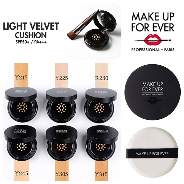 Make Up For Ever Light Velvet Cushion SPF50 makiažo pagrindas 14 g