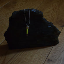 Load image into Gallery viewer, Classic Tritium Pendant Vial Glow Necklace