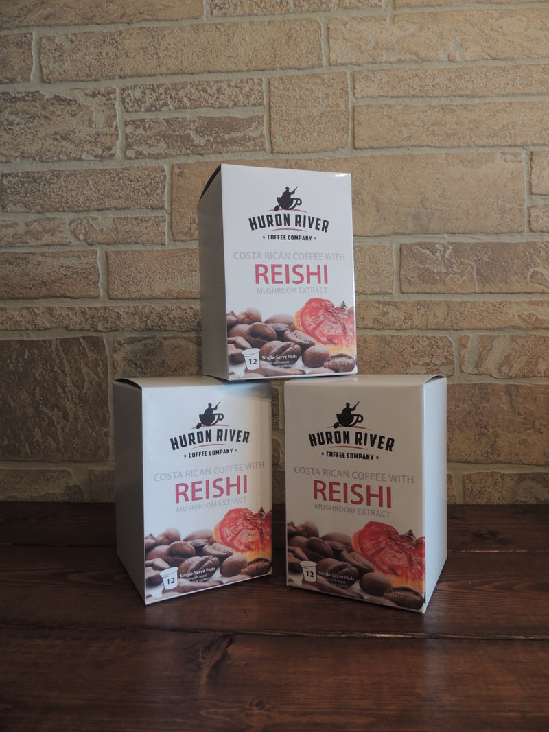 Reishi Mushroom Coffee Pods For Keurig® Brewers