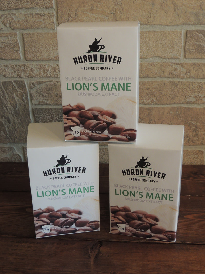 Lion's Mane Mushroom Coffee Pods For Keurig® Brewers