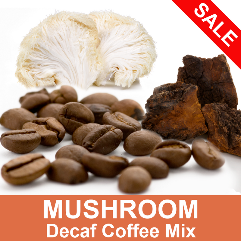 Decaf Ground Mushroom Coffee Mix