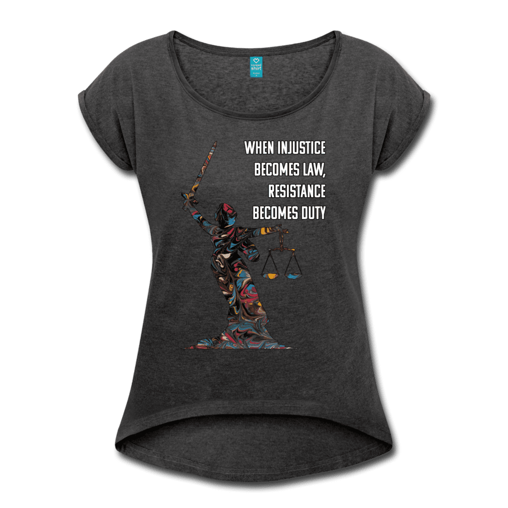Duty - Women's Roll Cuff T-Shirt - Fiercely Fem