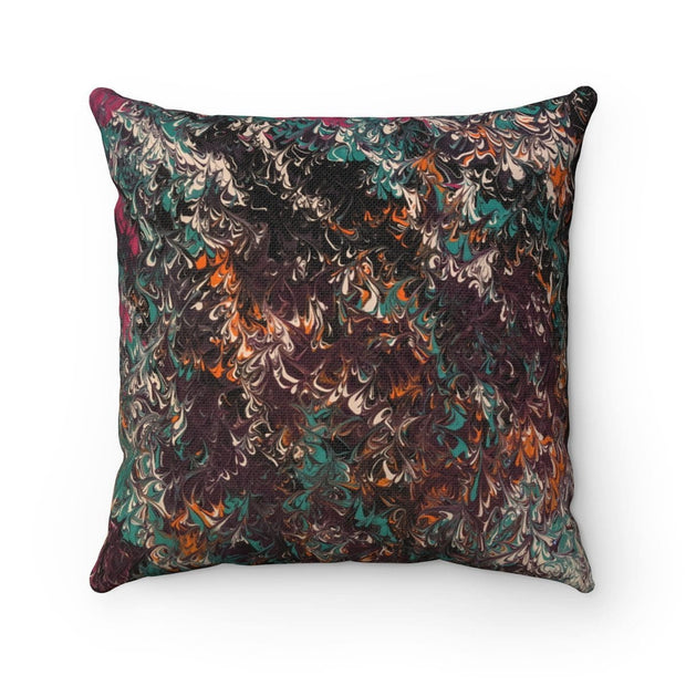 Mélange - Spun Polyester Square Pillow - Fiercely Fem