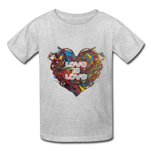 Love is Love - Kids' T-Shirt - Fiercely Fem