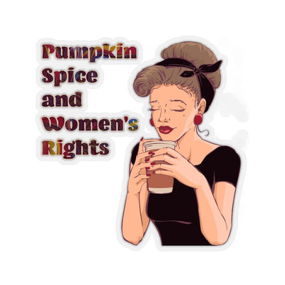 Pumpkin Spice - Kiss-Cut Sticker
