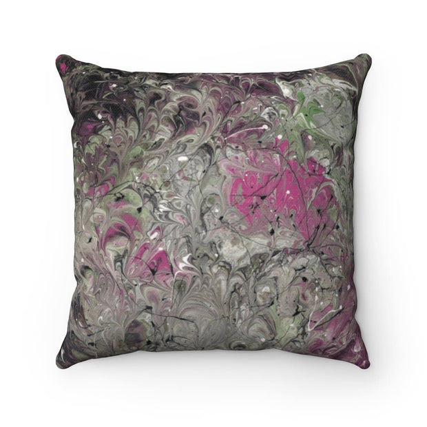 Hot Mess - Spun Polyester Square Pillow