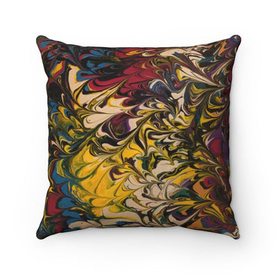 Escape Reality - Spun Polyester Square Pillow - Fiercely Fem