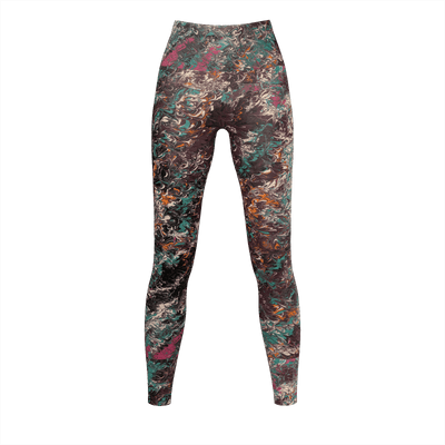 Mélange - Recycled Poly Leggings - Fiercely Fem