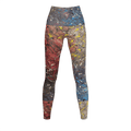 Mood Splash - Recycled Poly Leggings - Fiercely Fem
