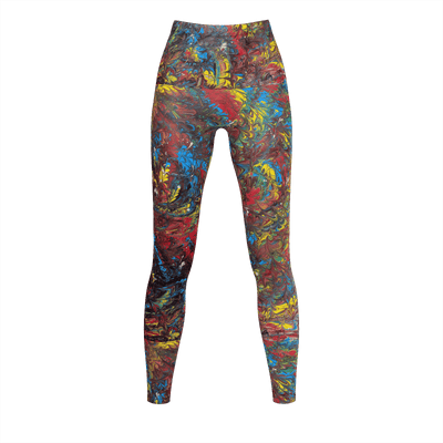 Pride Inspired - Recycled Poly Leggings - Fiercely Fem