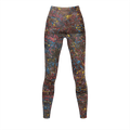 Jazz Splash Crescendo - Recycled Poly Leggings - Fiercely Fem