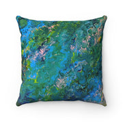 Rhapsody In Blue - Spun Polyester Square Pillow