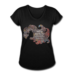 STEM - Women's Tri-Blend V-Neck T-Shirt - Fiercely Fem