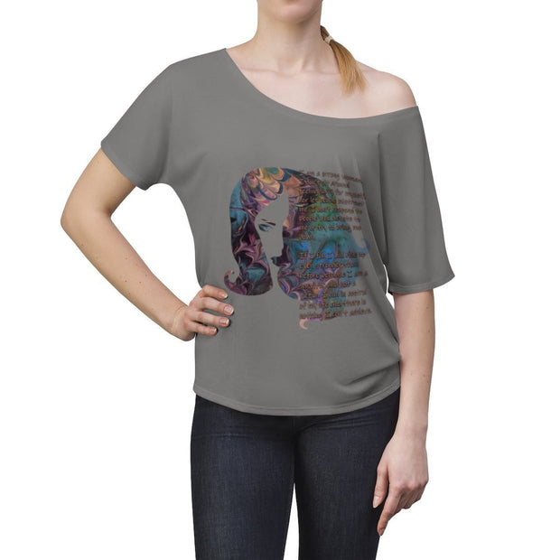 Stronger - Women's Slouchy top - Fiercely Fem