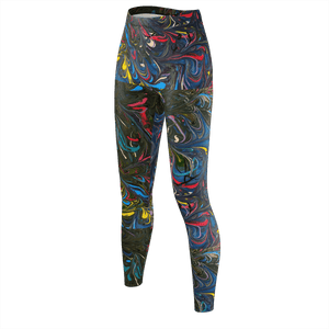 Jazz Splash 2 - Recycled Poly Leggings - Fiercely Fem
