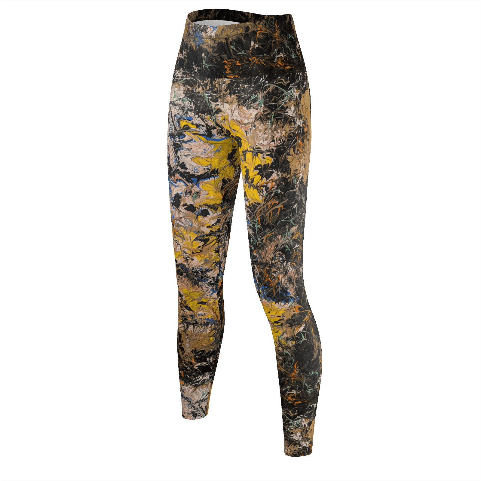 Chaos & Light - Recycled Poly Leggings - Fiercely Fem