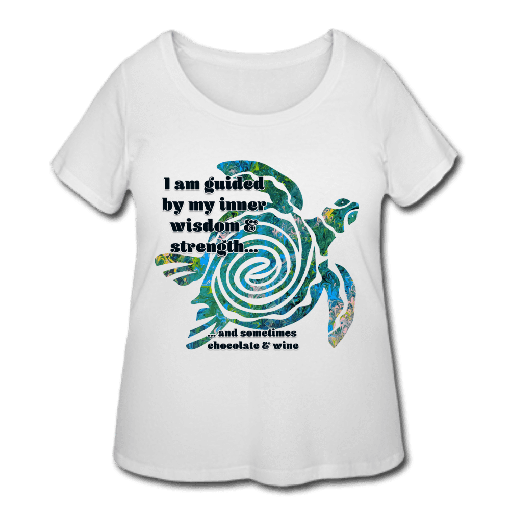 Wisdom & Strength - Women's Curvy Tee - Fiercely Fem