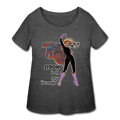Strong Women's Curvy Tee - Fiercely Fem