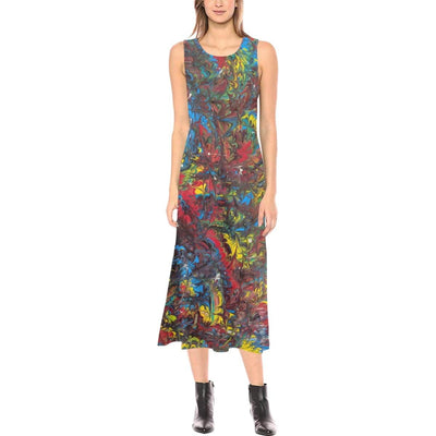 Pride Inspired - Sleeveless Open Fork Dress - Fiercely Fem