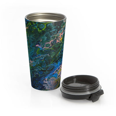 Blue Lagoon - Stainless Steel Travel Mug