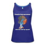 Entrepreneur - Women's Premium Tank Top - Fiercely Fem