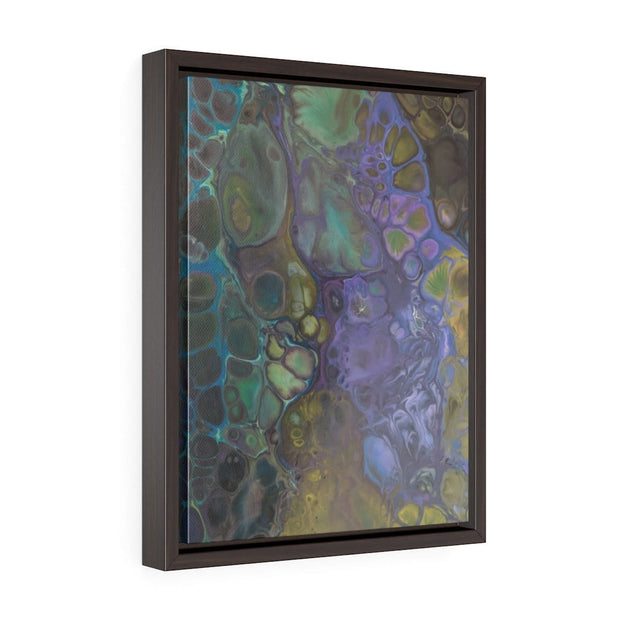 Ebb & Flow - Vertical Framed Premium Gallery Wrap Canvas - Fiercely Fem
