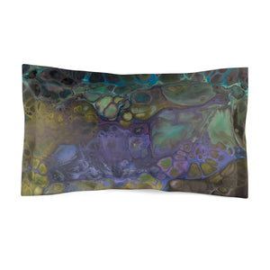 Ebb & Flow - Microfiber Pillow Sham - Fiercely Fem