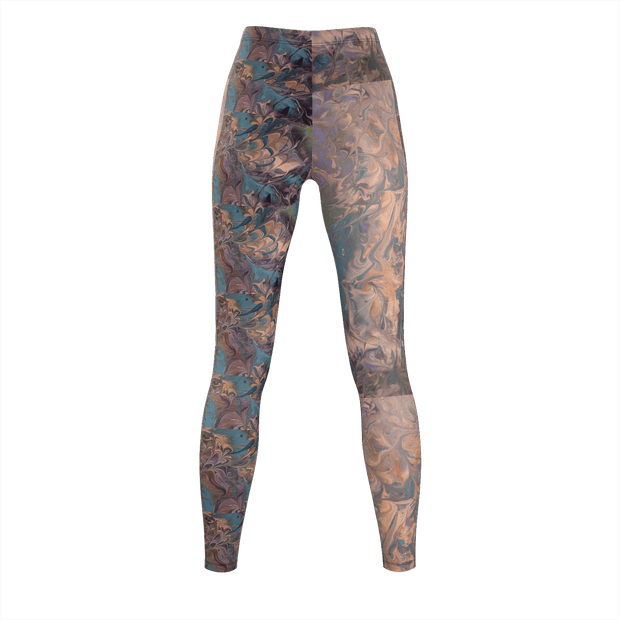 Mystical Moves - Recycled Poly Leggings - Fiercely Fem