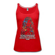 Courage - Women's Premium Tank Top - Fiercely Fem