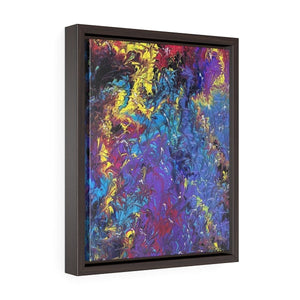 Mistress Matters - Vertical Framed Premium Gallery Wrap Canvas - Fiercely Fem
